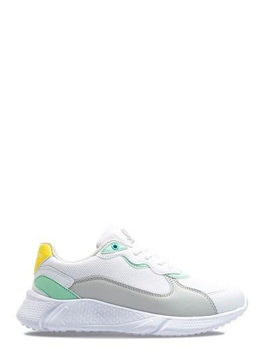 Benetton Bn30066 Kadın Spor Ayakkabı Beyaz